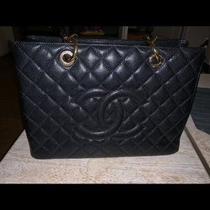 Chanel shopping bag tote